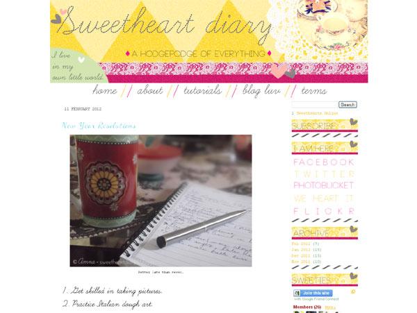 Sweethear Diary