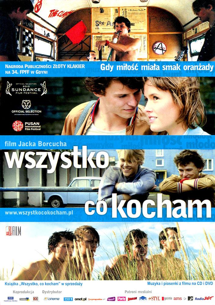 Ulotka filmu 'Wszystko, Co Kocham (przód - wersja B)'