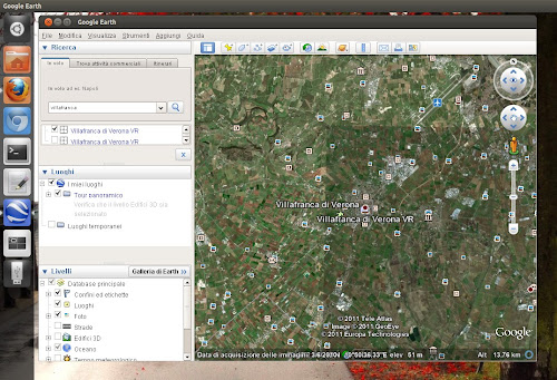 Ubuntu 12.04 - Google Earth