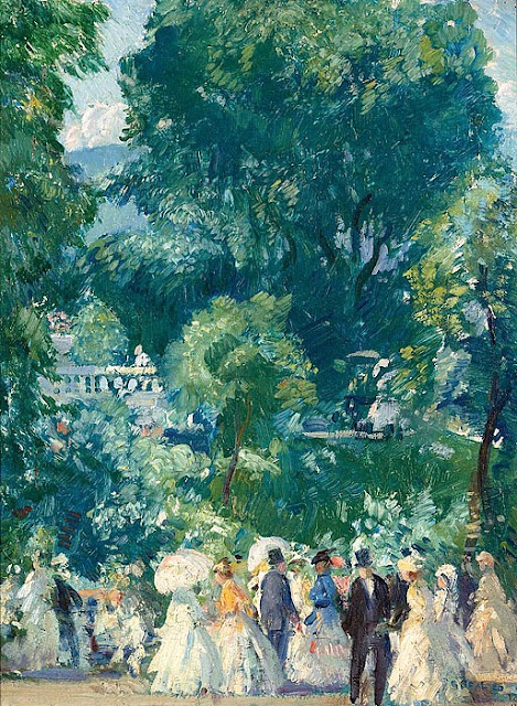 Gifford Beal - The Tea Party, 1920.