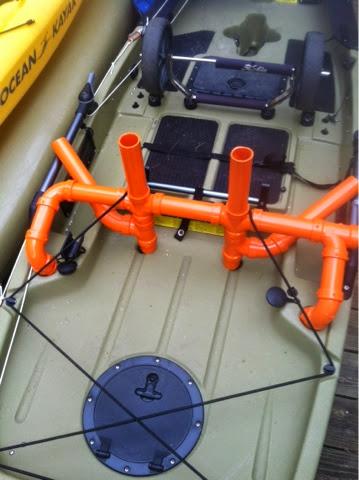 The Hobie Life Diy Pvc Rod Holders V2 Pro Angler 12