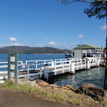 The sport and rec wharf at Little Wobby (204307)