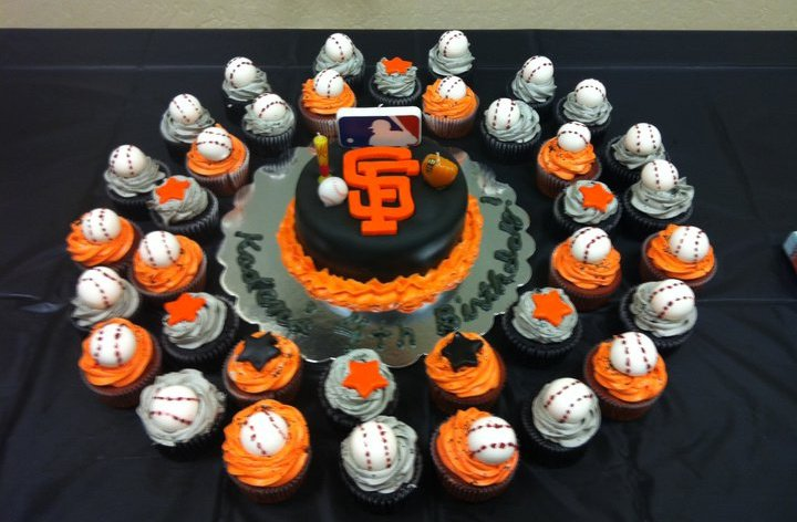 San Francisco Giants Take The Cake