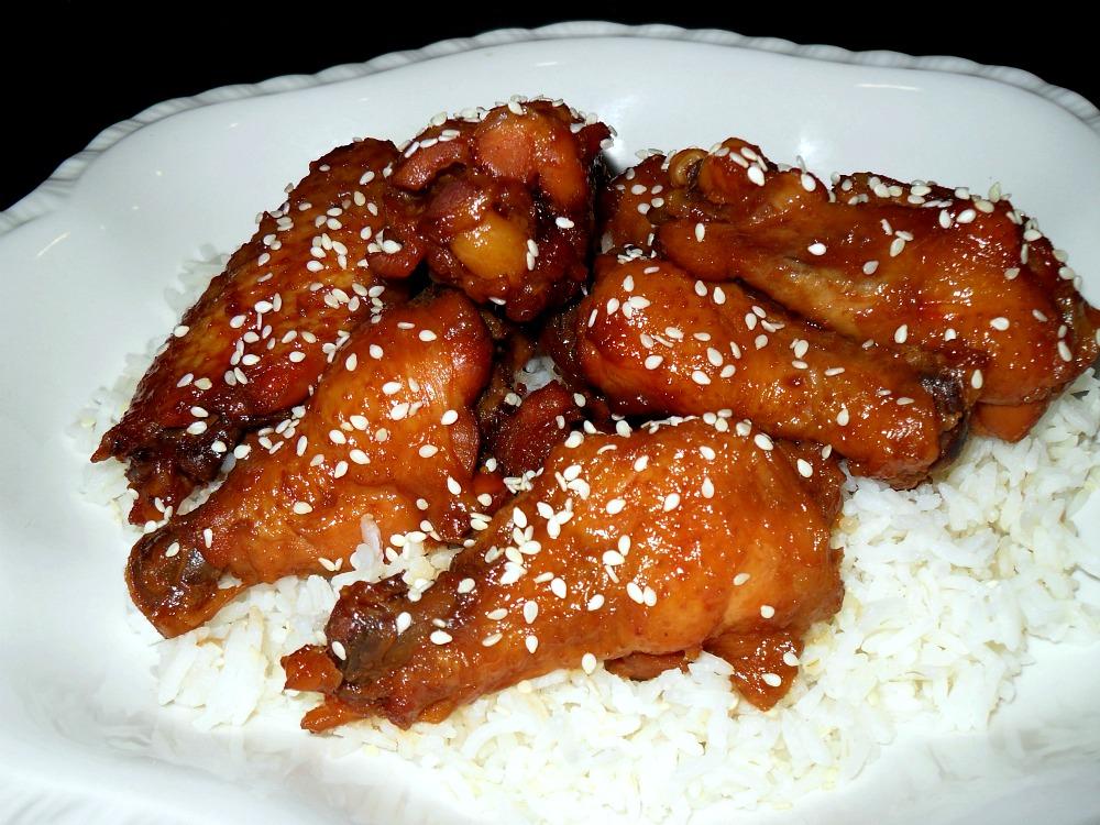 Teriyaki chicken wings recipe recipes teriyaki chicken wings forumfinder Choice Image