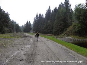 Na zdjęciu szlak na Rudawiec