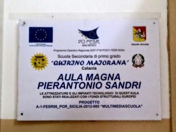 targa, aua magnaa, Quiribìni Maiorana, Pierantonio Sandri