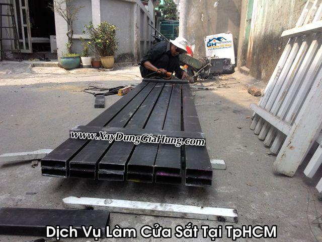 Dịch vụ làm cửa sắt giá rẻ thứ nhất tại TpHCM