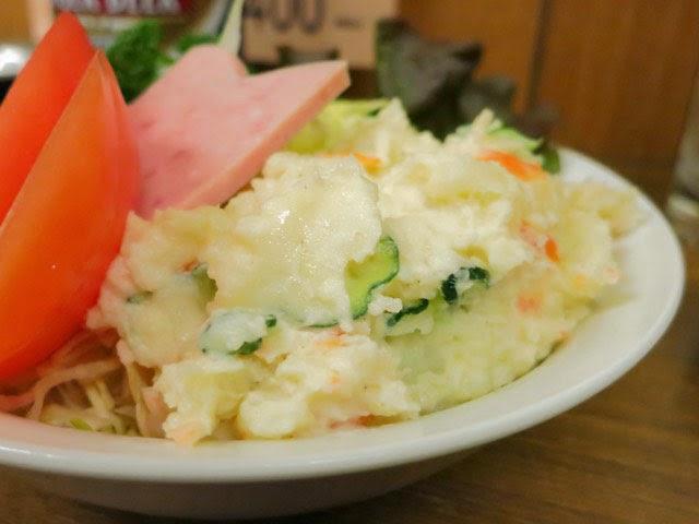 たぅぷり盛られたポテトサラダ