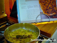 French Village Diaries alphabet food advent calendar onions olives pissaladiere recipe