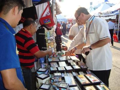 Un bazar de nostalgia en Feria Chapina 2012