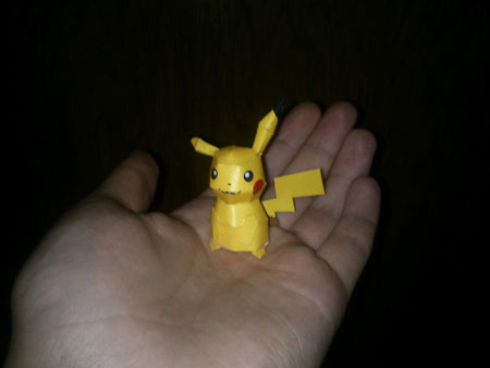 Mini Pikachu Papercraft