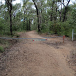Gate at end of Nepean Lookout fire trail (150375)