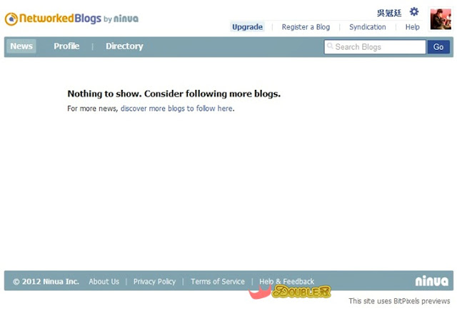 FACEBOOK粉絲團系列-用networkedBlogs匯入部落格文章