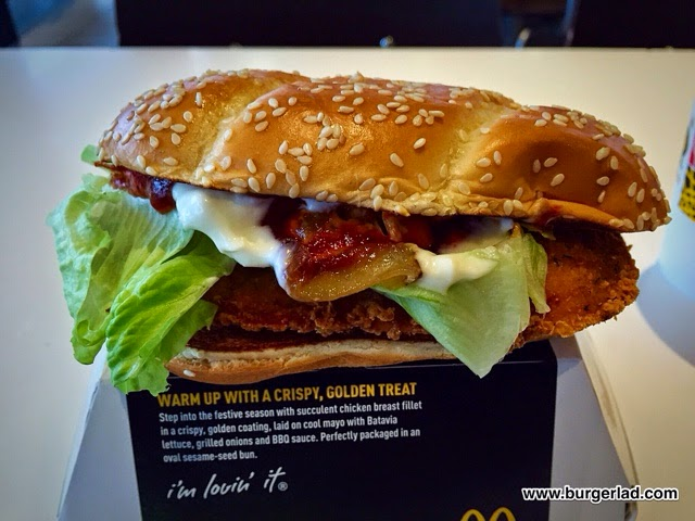McDonald's Festive Chicken Deluxe