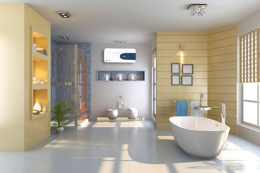 Bình nóng lạnh Olympic cho phòng tắm có diện tích lớn