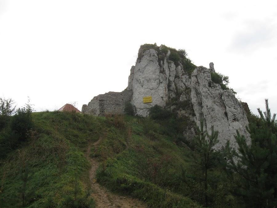 ścieżka na Zamek Rabsztyn