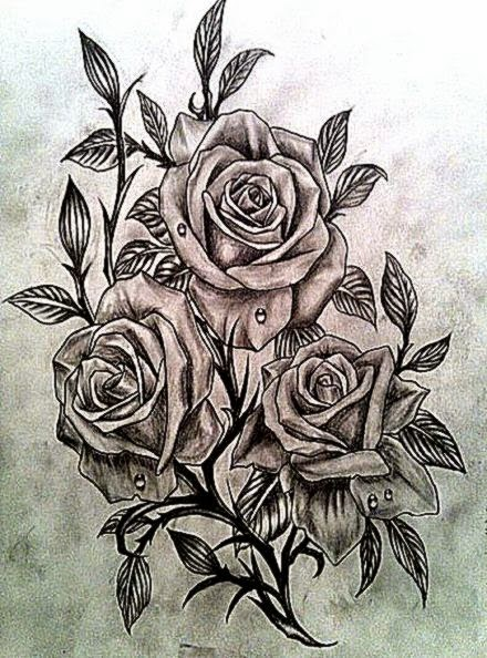 55 Best Rose Tattoos Designs   Best Tattoos for 2015   Pretty Designs