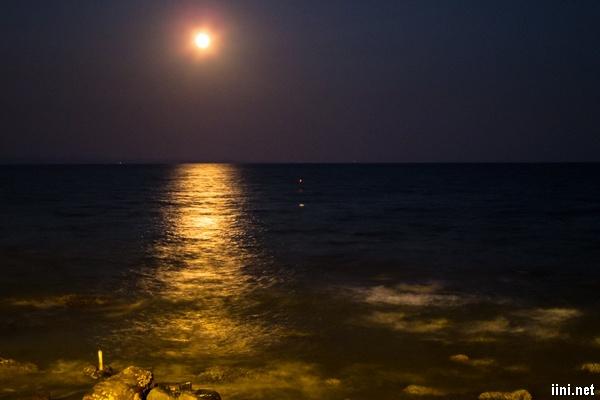 thơ hay biển về đêm