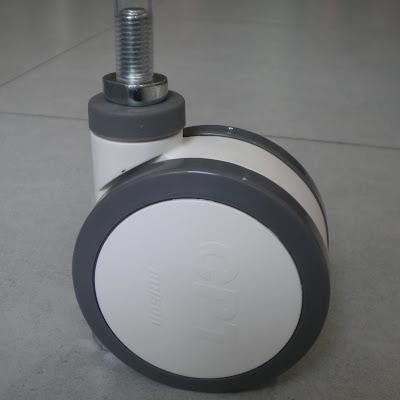Bánh xe đẩy y tế Colson Caster Mỹ chịu lực 100kg | CPT-4854-85 phi 100 x 66