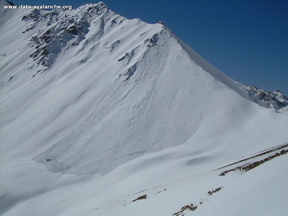 Avalanche Briançonnais, secteur Izoard, Côte Belle - Photo 1 - © Mercader Jérôme