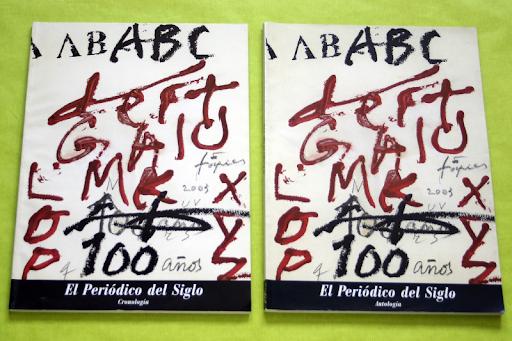 Especial 100 Años diario ABC.  Vendo