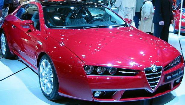 Italian car Alfa Romeo