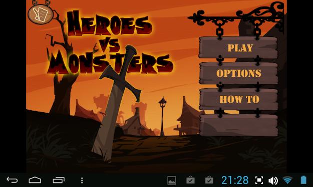 Heroes vs Monsters | เกมส์ฮีโร่ปะทะมอนสเตอร์ | โหลดเกมส์แอนดรอยด์ฟรี
