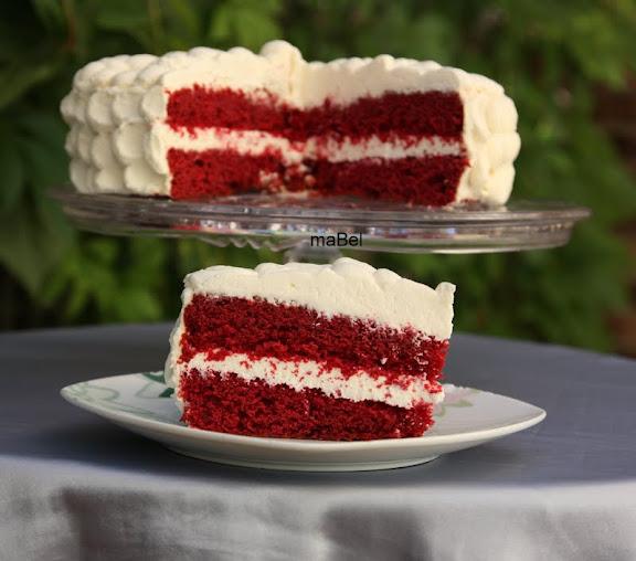 Torta Red Velvet Receta la Red Velvet o Torta de