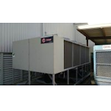 (2) Spotting Tractors and Trane Chiller