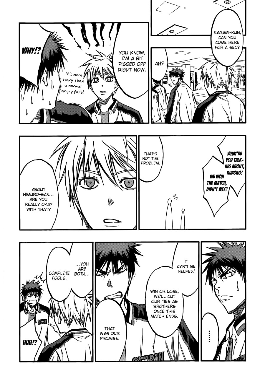 Kuroko no Basket Manga Chapter 169 - Image 14