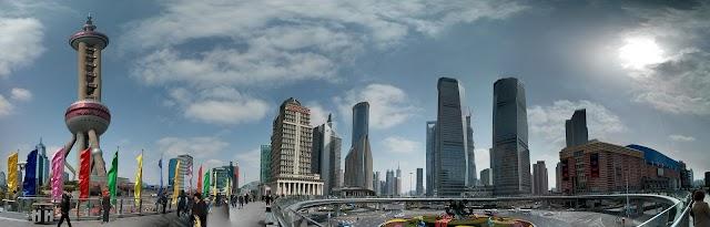中国上海浦东环景照片