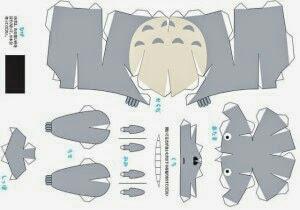 Papercraft de Totoro