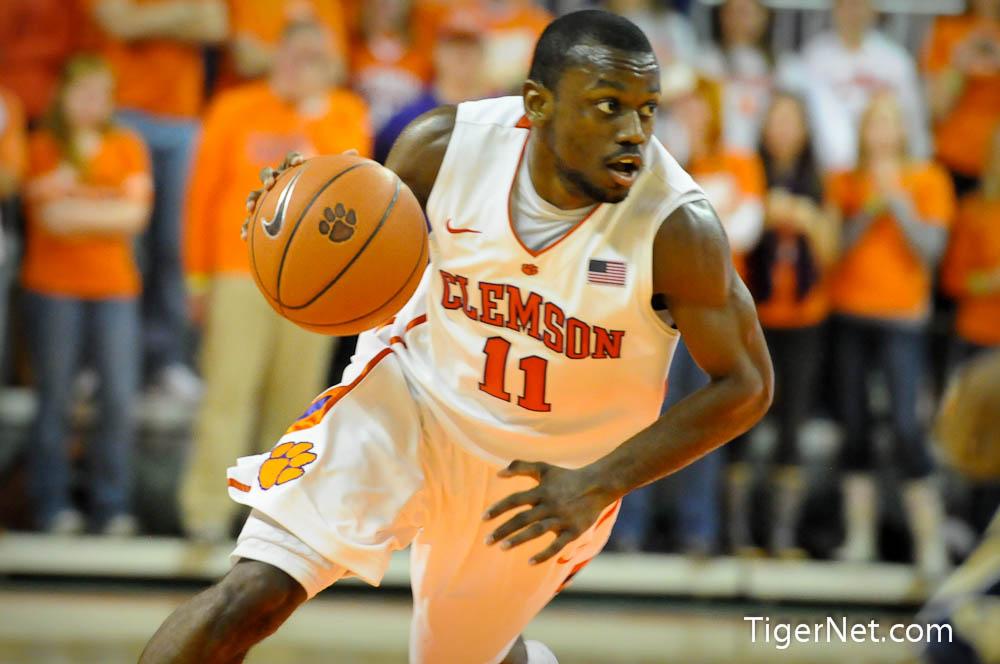 Clemson vs. Georgia Tech Photos - 2012, Andre Young, Basketball