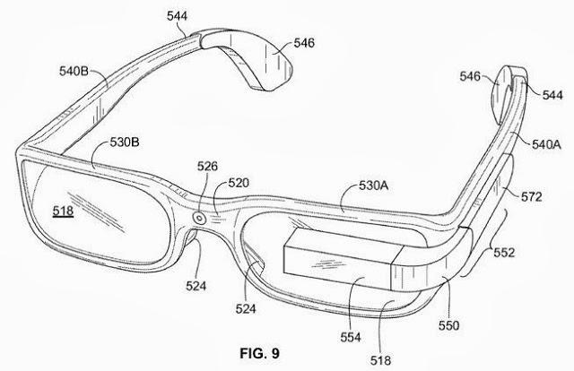 Nuevo diseño de Google Glass