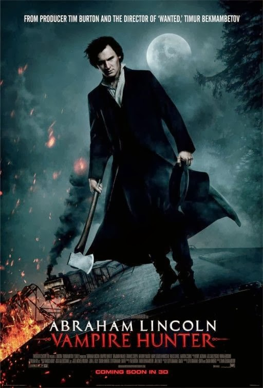 Poster Of Abraham Lincoln: Vampire Hunter (2012) Full Movie Hindi Dubbed Free Download Watch Online At Alldownloads4u.Com