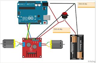 Lập trình L298 arduino
