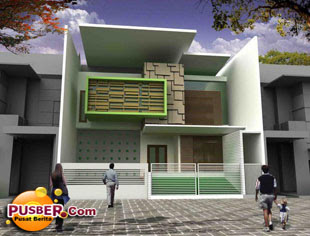 Model rumah minimalis tipe 36 - pusber.com