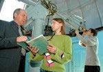 Студенты – астрофизики проводят научные исследования в астрономической обсерватории ОНУ