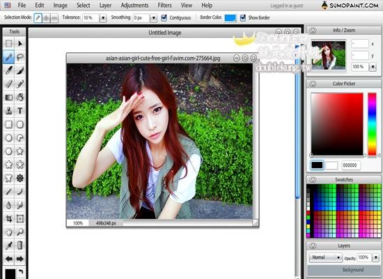 免費軟體美編系列-像PHOTOSHOP一樣的線上美編軟體
