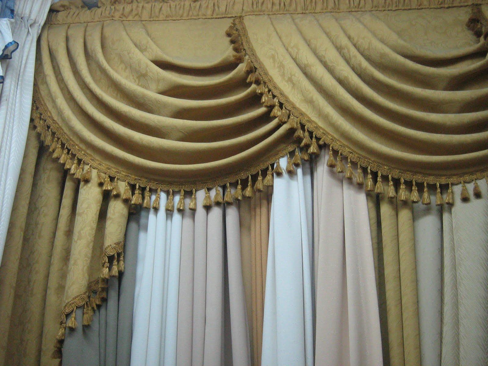 Como hacer cenefas decorativas para cortinas imagui - Hacer cortina ...