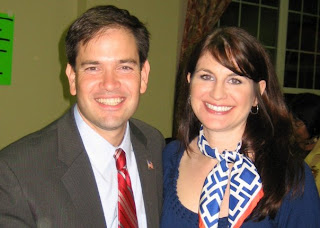 Marco Rubio and Sarah Rumpf