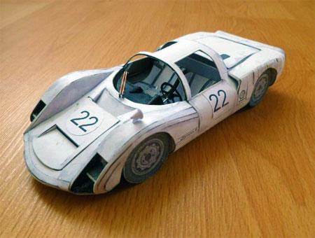 Porsche 906 Papercraft