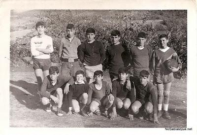 Equipo infantil de futbol de Candelario Salamanca