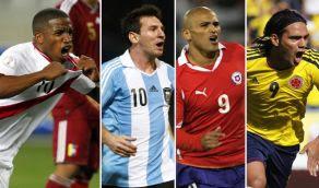 Horarios Novena Decima fecha Eliminatorias Brasil 2014 Octubre 2012