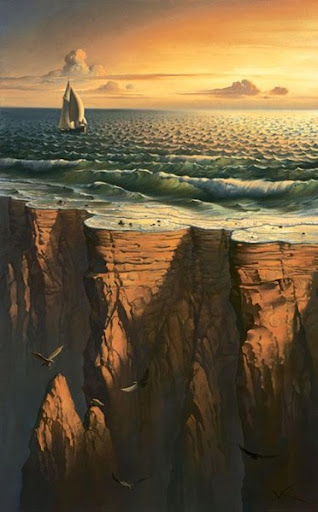 The End of the Earth por Vladimir Kush