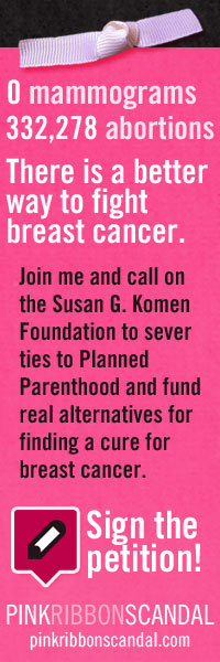 Save lives and find a cure for breast cancer -- sign the petition at PinkRibbonScandal.com