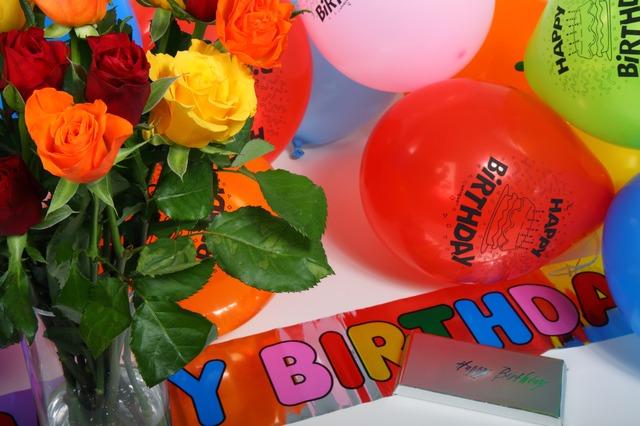 ảnh chúc mừng sinh nhật có hoa hồng đẹp