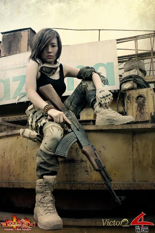Nhóm Vật Cản công bố bộ ảnh cosplay Đột Kích mới 8