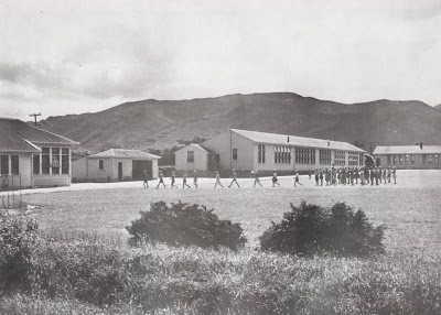 The primary classrooms, District High School, 1956