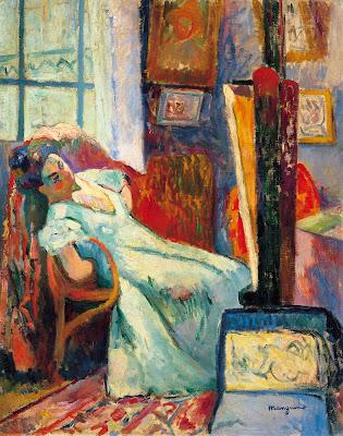 Henri-Charles Manguin - Model Resting, 1905